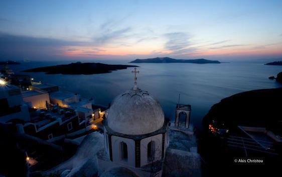 Santorini magic, twilight zone, excellent colors